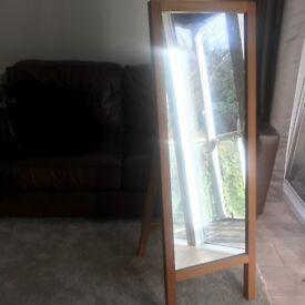 Bargain- Solid Wood Standing mirror