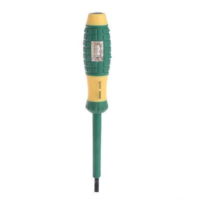 Electrical Tester Pen 220v Slotted Screwdriver Voltage Power Detector Probe 4mm