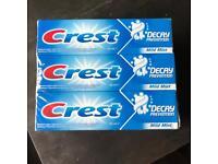 Crest Toothpaste - Mild Mint (6x100ml)