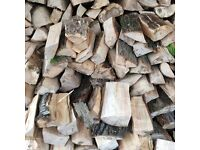 LOGS seasoned split firewood