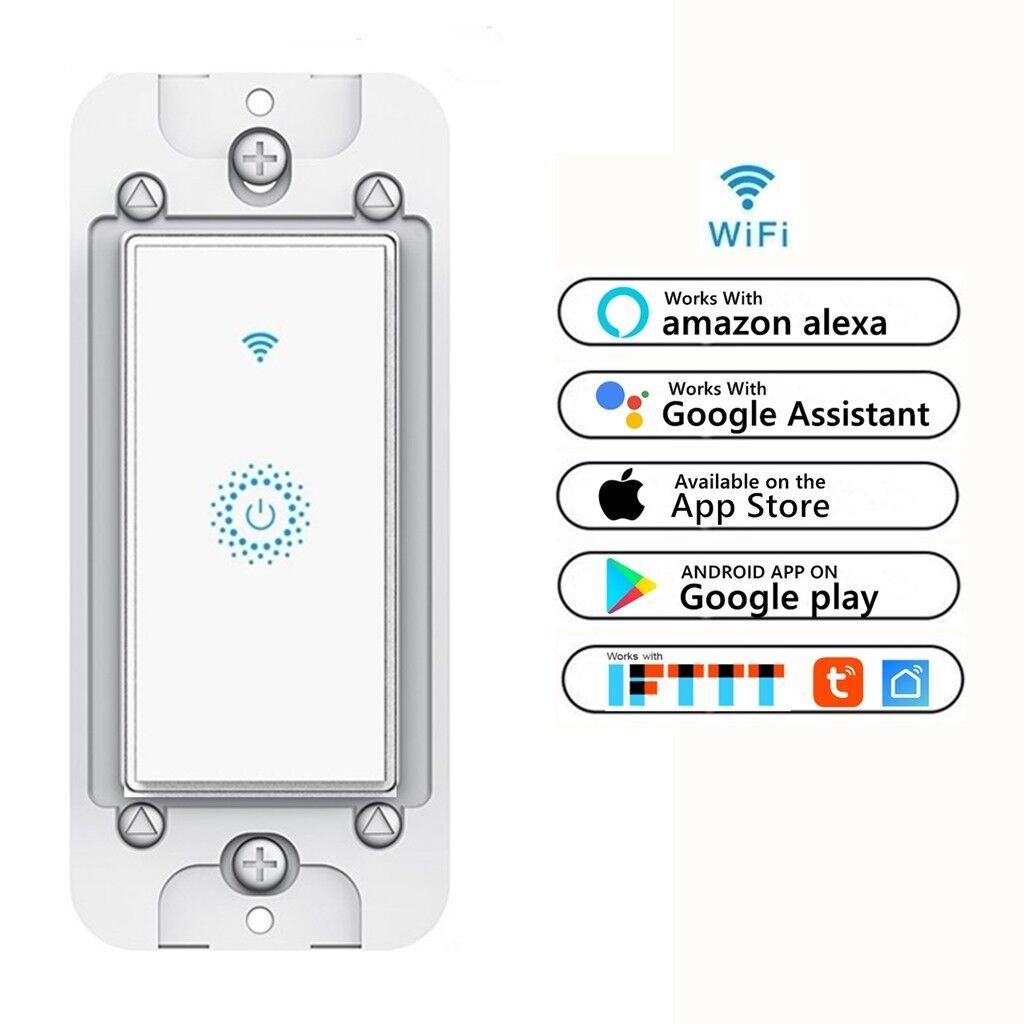 Smart WIFI Light Switch Remote Alexa Google Home IFTTT Voice