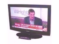 """SAMSUNG LCD 32"""" TV, BUILT IN FREEVIEW, MONITOR, HD"""