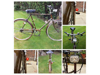 1970s Vintage Raleigh Esquire mens town Bike