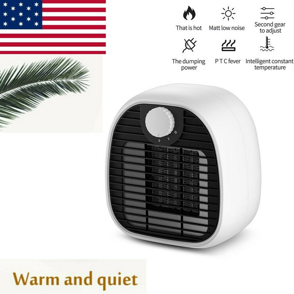 Portable Electric Mini Heater Fan Space Fan Heater No Noise