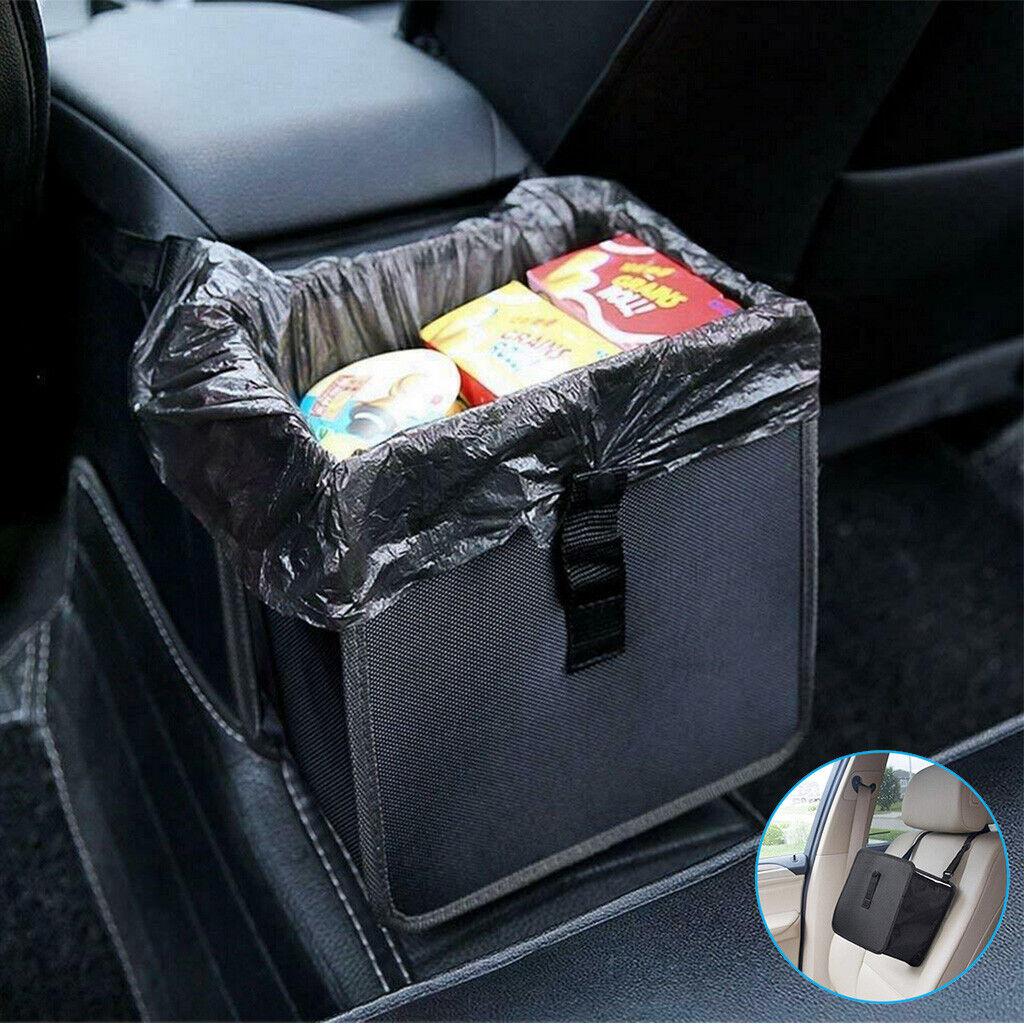 Portable Vehicles Car Trash can Garbage Bin Bag Organizer Waterproof Foldablle