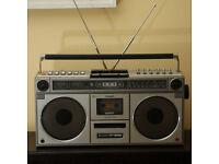 1970s Retro Sharp GF-9090 Boombox Ghettoblaster Stereo Radio