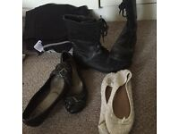 3 pairs Shoes size 4