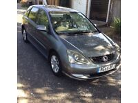 2005 (55) Honda Civic 1.6L Executive *TOP SPEC*LEATHERS*A/C* MUST SELL MUST GO QUICK SALE!!!!!