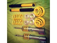 NEW AND UNUSED Vauxhall Corsa C Coilovers (FK Street)