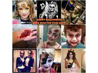 HALLOWEEN FACEPAINTING AND SFX