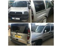 Fiat Doblo Family JTD 1.9 MPV GREY 2005 front bumper all parts available