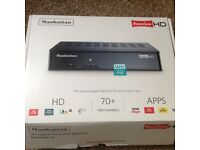 Manhattan freeview HD receiver only used for two days