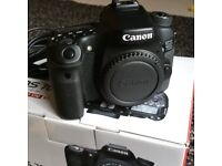 Canon 70D As new. Boxed with extras
