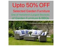 50% off selected garden furniture