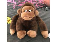 Grumpy Gorilla Plush toy