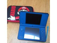 Nintendo DSi XL with case & charger - Excellent condition