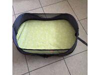 Travel BRICA bassinet