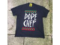 Dope chef t shirt size small