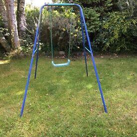 Swing for outdoor activities with the children