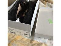 Black Kurt Geiger carvela loafers 7