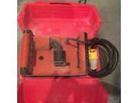 110v Hilti DC.SE20 wall chaser with case