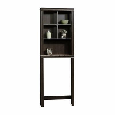 Etagere Bathroom Cabinets (Sauder 414029 Peppercorn Etagere Adustable Shelf Bathroom Storage Cabinet )