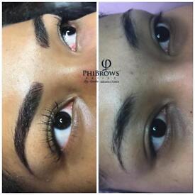 Microblading , eyelash extension and lash lift (LVL).