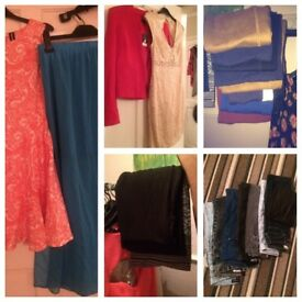 Joblot clothing/shoes bundles Topshop River Island Size 6-12 mostly brand new