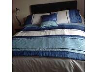 Duvet set and curtains