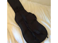 Padded, Electric Guitar Case with handy back strap, never been used