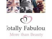 Eyelash Extensions £30, shellac nails, facials, waxing, massage, fake bake tan