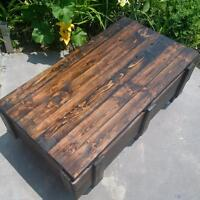 Rustic Repurposed Country Coffee Table
