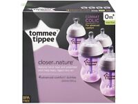 Tommee tippee anti colic bottles