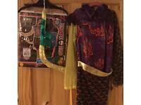 Monster high Jinafire Long / Halloween outfit age 5-7