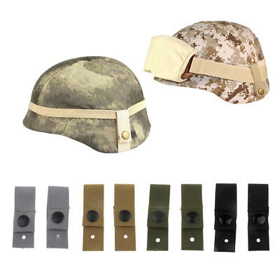 2 Pieces MICH ACH Helmet Universal Goggle Retention Straps Fixing Band Belt Mich Helmet Straps