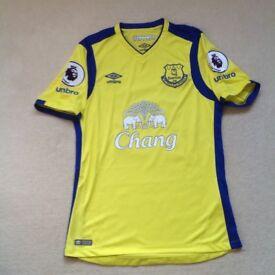 Signed Everton Premiership Shirt (2016)