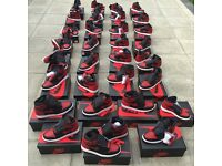 Nike Air Jordan 1 Banned/Bred Size UK 5 6 7 8 9 10 11