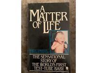 A Matter of Life. Book