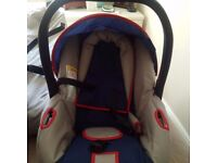 Baby buggy and baby carrier for sale Excellent condition