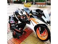 Rc 125 ktm learn CBT legal neaely brand new , 2017 , 900 miles only