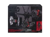 STAR WARS HASBRO BLACK SERIES 6'' INCH FORCE AWAKENS ELITE FORCES TIE FIGHTER & PILOT FIGURE £120