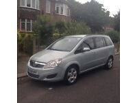 Vauxhall zafira 1.9 cdti Automatic 58 plate with pco licence great driver long mot