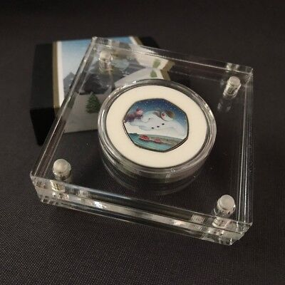 The Snowman 2018 50p Perspex Coin Display (DISPLAY ONLY)