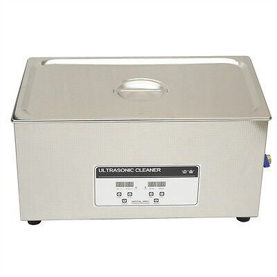 Vfn 220v Professional Ultrasonic Cleaner 22l Heater Timer Cleaning Tank Industry
