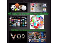 mag 254/250 6 month IPTV subscription only UK EPL/french/turkish/itallian & more