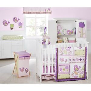 Kidsline Tweet 10-Piece Crib Bedding Set  Includes Bumper & Mobile * New*