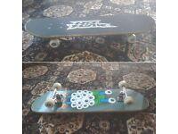 Black Amazing Skateboard