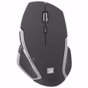 Platinum Series Wireless Laser Mouse (PT-PNM6506-BK-C) - Black / Red
