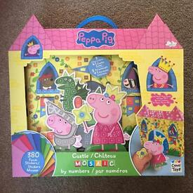 Peppa Pig 2D Castle by Numbers