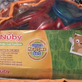 Nuby baby led feeding